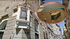 เด็กมัธยมจากเวลส์ถูกกล่าวหาว่าเป็นคนทำลาย สถาปัตยกรรม จากศตวรรษที่ 16 ในอิตาลี