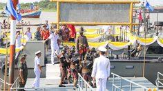 ขบวนเรือ 250 ปี ตามรอยกองเรือยกพลขึ้นบก ยาตราทัพจากนนทบุรีเข้าปทุมฯ วันนี้