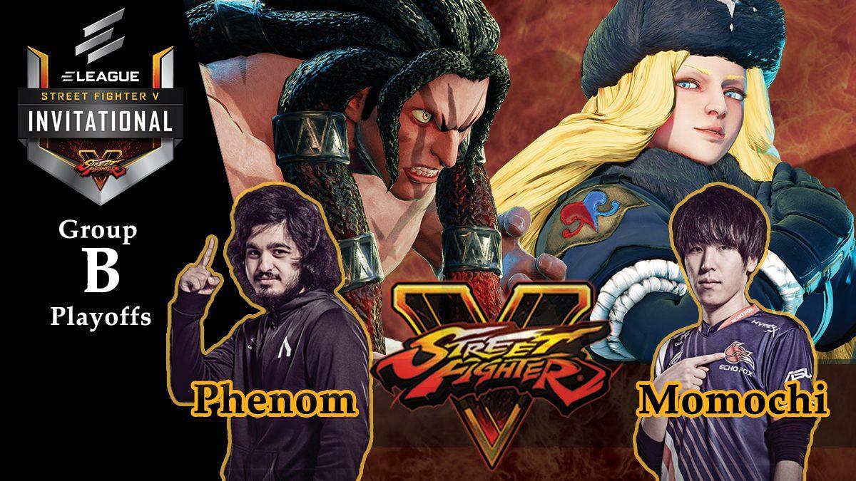 การแข่งขัน Street Fighter V | ระหว่าง Momochi vs Phenom [Group B]