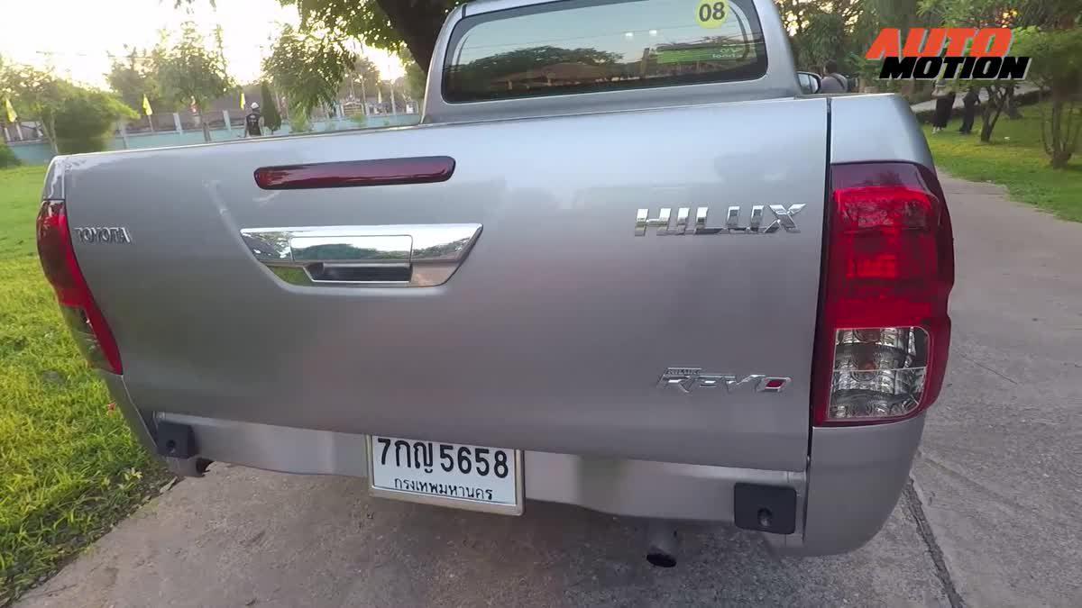 Toyota Hilux Revo รุ่นปรับปรุงใหม่ เเรงจริง ประหยัดจริง นาทีนี้ต้องยกให้เขา!!