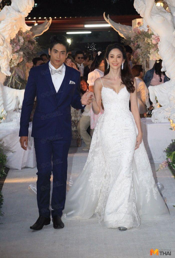 ธันน์ - ยุ้ย เข้าพิธีแต่งงาน