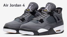 ฉลองครบรอบ 30 ปี Air Jordan 4 Retro ด้วยสียอดนิยมตลอดกาล Cool Grey