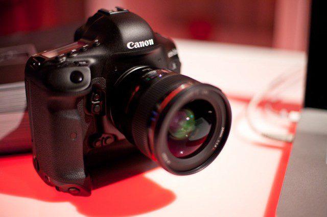 Canon กำลังทดสอบ Pro DSLR 75 ล้านพิกเซล !!