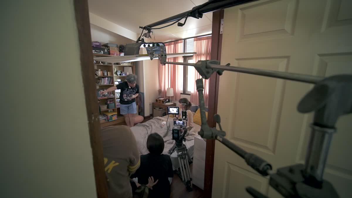 ภาพ Behind The Scene ภาพยนตร์สั้นเรื่อง See U IN NEXT 30 YEARS
