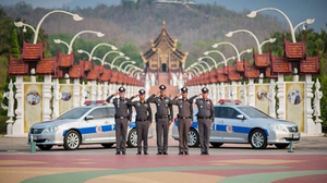 Chiang Mai Police hand out for Chinese Tourists