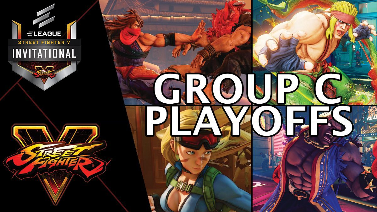 การแข่งขัน Street Fighter V Invitational 2018 | Group C [2/2]