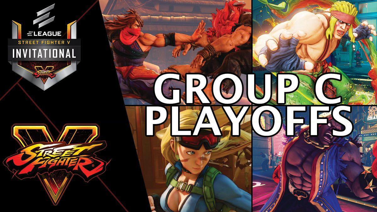 การแข่งขัน Street Fighter V Invitational 2018 | Group C [2/2]