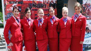 มิติใหม่วงการแอร์ฯ สายการบิน เวอร์จิน แอตแลนติก อนุญาตแอร์ฯ ไม่ต้องแต่งหน้า