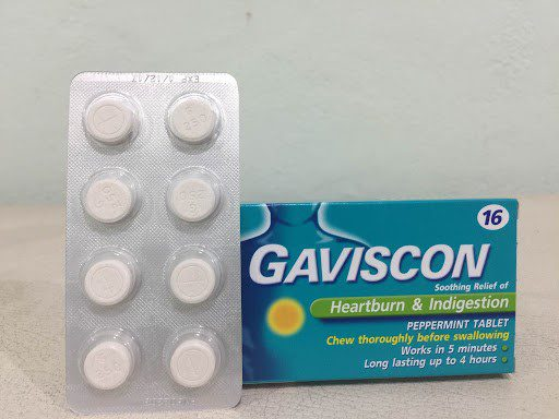 รวมยารักษากรดไหลย้อนแบบเม็ด