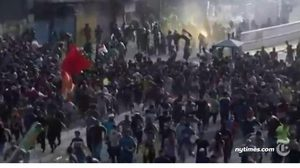 ประท้วงอิรักนองเลือด ! ม็อบปะทะตำรวจเสียชีวิตทะลุ 100 รายแล้ว