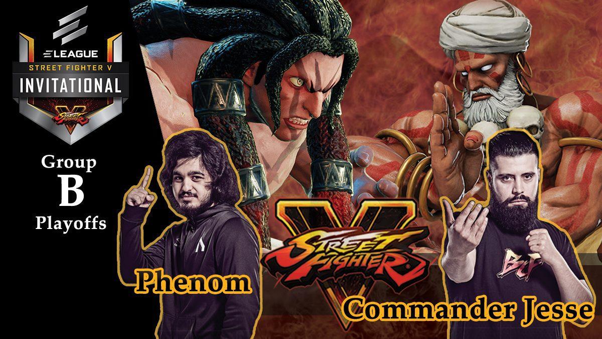 การแข่งขัน Street Fighter V | ระหว่าง Phenom vs Commander Jesse [Group B]