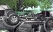 รถกระบะถูกชนพลิกคว่ำเด็กเสียชีวิต 1 คน