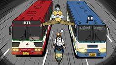 17 ความจริง เกี่ยวกับรถโดยสารของไทย
