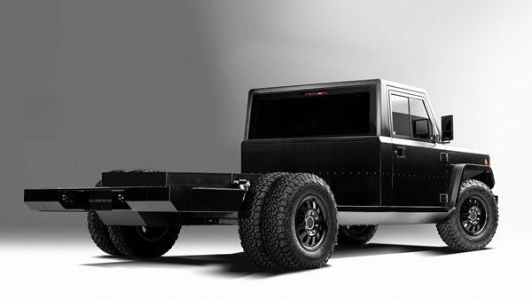 Bollinger B2 Chass-E Cab