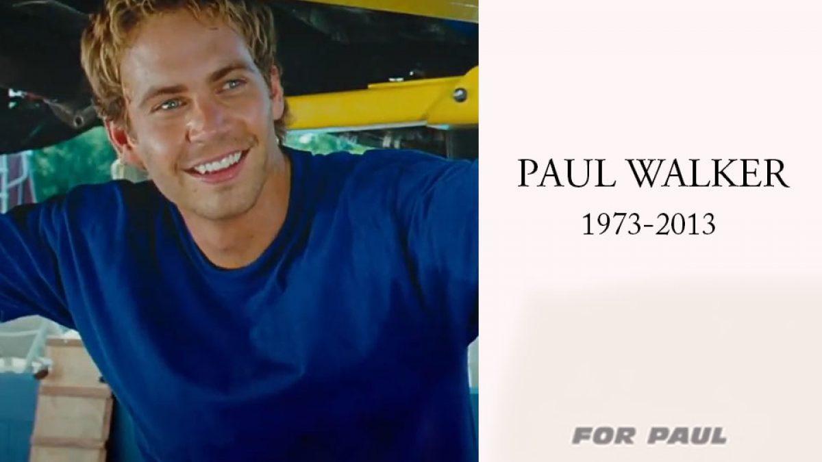 ครบรอบ 4 ปี ที่จากไป พอล วอล์กเกอร์ กับการอำลาใน Fast and Furious 7