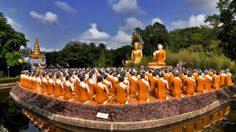 ศึกษาพุทธประวัติที่พุทธอุทยาน วัดชากใหญ่ จ.จันทบุรี