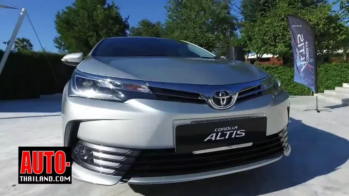 Testdrive Toyota Corolla Altis ESport 2017