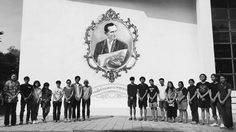 นิสิต-นักศึกษามหาวิทยาลัยต่างๆ ร่วมใจวาดภาพในหลวง รัชกาลที่ 9
