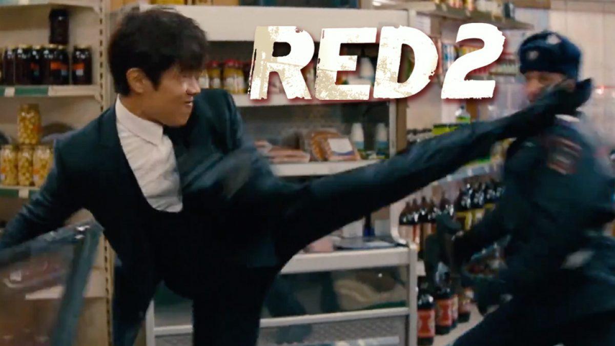 อีบยองฮอน นักแสดงเกาหลีสุดเท่ กับฉากบู๊ลุยเดี่ยวใน Red 2