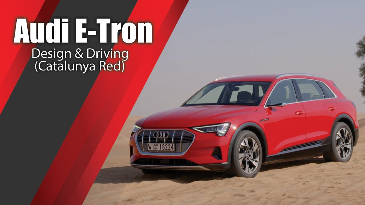 Audi E-Tron Design & Driving in Catalunya Red