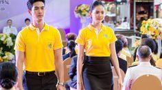 """โบว์-จิณณ์ นำทีมสวมเสื้อเหลือง พร้อมสวยสง่าในชุด """"อาภรณ์ไทย เทิดไท้องค์ราชัน"""""""