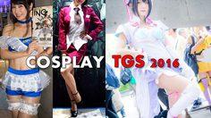 สาวๆ Cosplay จากงาน TGS 2016 ที่เมืองชิบะ ประเทศญี่ปุ่น
