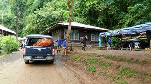 กองทัพอากาศฯ ยังอยู่เป็นเพื่อนหมูป่า สนับสนุนภารกิจนำหมูป่าออกจากถ้ำ
