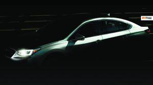 Teaser แรกของ Subaru Legacy 2020 ก่อนเปิดตัววันที่ 9 กุมภาพันธ์ นี้