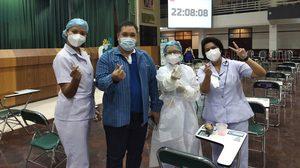 ศูนย์ฉีดวัคซีนมหาวิทยาลัยเกษตรศาสตร์ เร่งปูพรมฉีดวัคซีนป้องกันโควิด-19