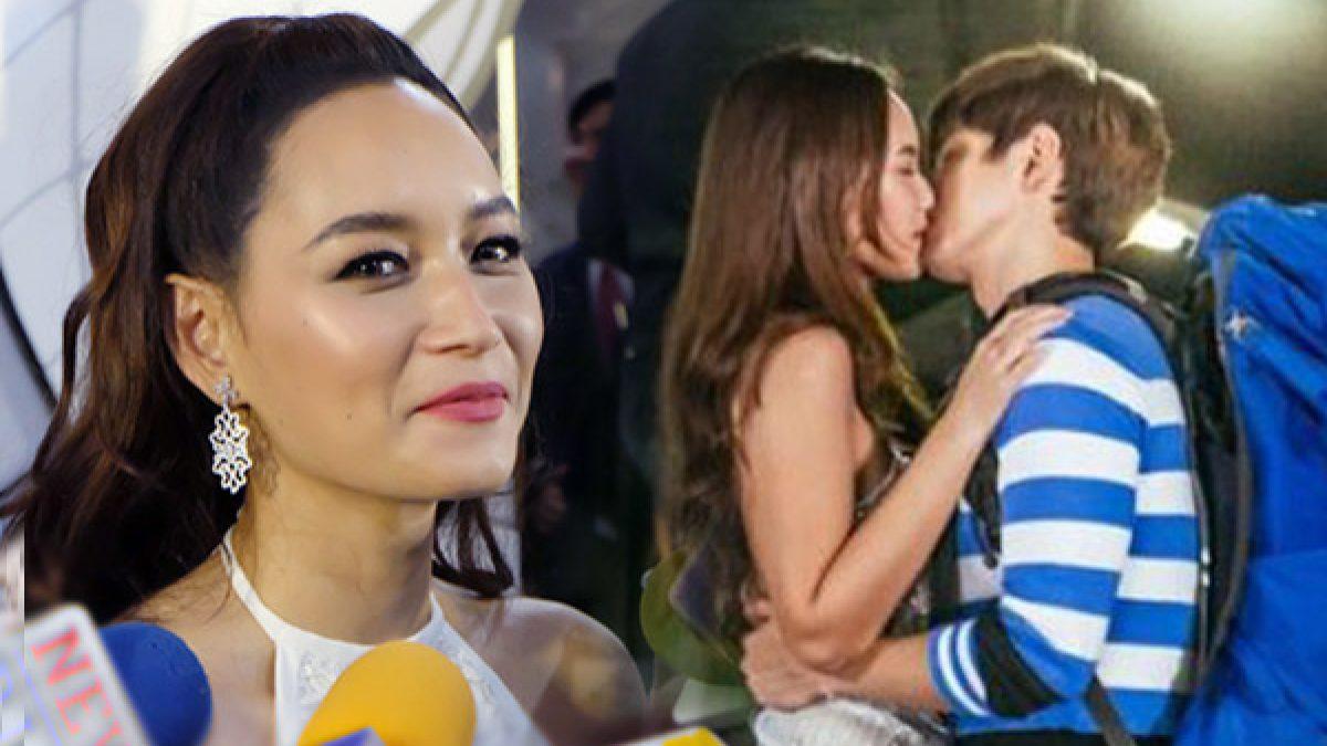 หวานใจไม่ว่า! บี เขินยอมจูบจริง ฟิล์ม ในละครครั้งแรกเพื่อคนดู