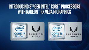 intel จับมือกับ AMD เปิดตัว CPU Core 8th Gen พร้อมการ์ดจอ AMD RX Vega M สำหรับโน๊ตบุ๊คเกมมิ่ง