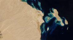 ภาพมุมสูง ของสนามบินรอบโลก ที่ถ่ายจากบนอวกาศ