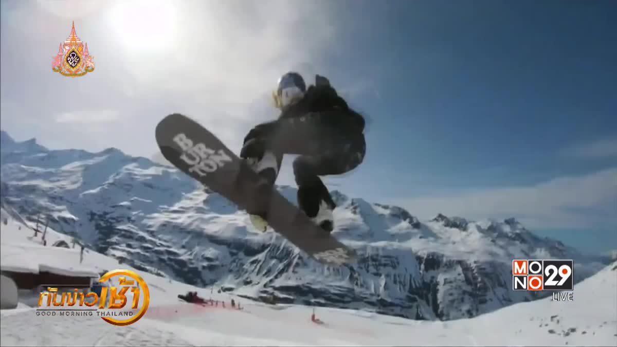 การแข่งขันสกี-สโนว์บอร์ดผาดโผนในออสเตรีย