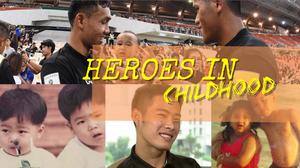 Heroes in childhood : รวมรูปวัยละอ่อนแข้งดัง ทีมชาติไทย