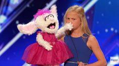 OMG! สาวน้อยวัย 12 กับ ตุ๊กตาบันนี่ โชว์พากย์เสียงร้องเพลง จนคนดูทึ่ง