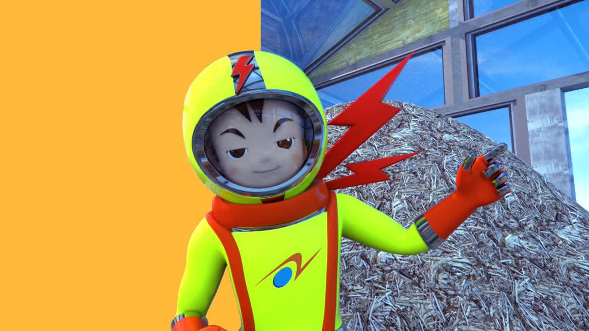 มนุษย์ไฟฟ้าอัศวินพิทักษ์โลก season 2 ตอน 'เทคโนโลยีการผลิตเชื้อเพลิงทดแทนจากชีวมวล'