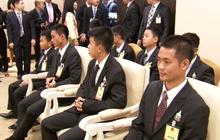 ทีมหมูป่าอะคาเดมีเข้าพบนายกรัฐมนตรี