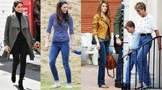 ถึงเป็นเจ้าหญิงก็ใส่นะ!! ตามส่อง แฟชั่นกางเกงยีนส์ แบบไหนที่เจ้าหญิงชอบใส่