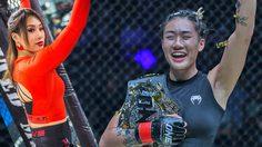 แองเจลา ลี แชมป์โลกหญิง MMA อายุน้อยที่สุด กับบทบาทนางแบบเครื่องประดับมู่หลาน