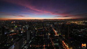 ความสวยงามของเมืองกรุง กับแสงแรกยามเช้า บนตึกสูงที่สุดในประเทศไทย