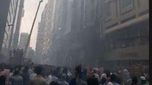 ไฟไหม้ตึกสูง ย่านธุรกิจในกรุงธากา เสียชีวิตอย่างน้อย 5 ราย