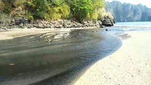 รองผู้ว่าฯ กระบี่ เผยเหตุขุดหาดทราย ปล่อยน้ำเสียลงทะเล
