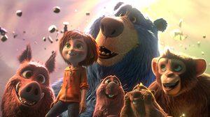 เด็กผู้หญิง สิงสาราสัตว์ และสวนสนุกเวทมนตร์ ในตัวอย่างแรก Wonder Park