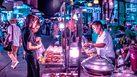 ภาพถ่าย Street Life ยามราตรี เปลี่ยน กรุงเทพฯ เป็นอีกโลกที่ไม่คุ้นเคย