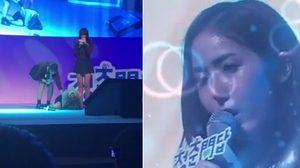 ชินบี G-Friend วูบ! เป็นลมล้มกลางเวทีคอนเสิร์ต