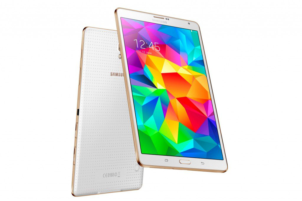 Galaxy Tab S 8.4 Dazzling White