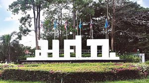 ภาพบรรยากาศใน มหาวิทยาลัยศิลปากร วิทยาเขตสารสนเทศเพชรบุรี