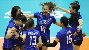ผลวอลเลย์บอล : สาวไทย ตบ ตรินิแดดฯ 3-1 เซต มีลุ้นเข้ารอบต่อไปศึกลูกยางโลก