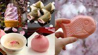ซากุระ ดอกไม้สีชมพู สารพัดเมนูสุดแสนจะน่ารัก