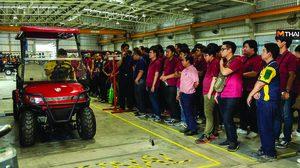 สถาบันเทคโนโลยีไทย-ญี่ปุ่น เยี่ยมชมโรงงานผลิตรถไฟฟ้า เติมเต็มความรู้ด้านเทคโนโลยีให้นักศึกษา